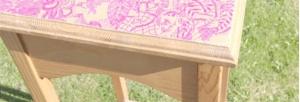 როგორ გავალამაზოთ ძველი მაგიდა